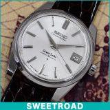 セイコー GS 2ndモデル/初期型 Ref.43999 Grand Seiko グランドセイコー・セルフデーター クロノメーター/オリジナルシルバーダイヤル/AD文字盤 手巻き 1964年製 w-16284 アンティーク 中古