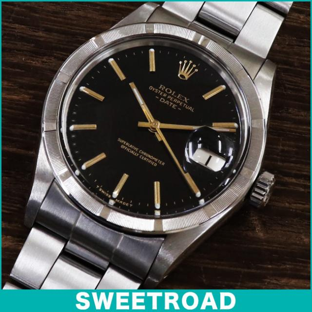 online store 36b6f a37f2 ROLEX ロレックス Ref.1500 OYSTER PERPETUAL DATE オイスター ...