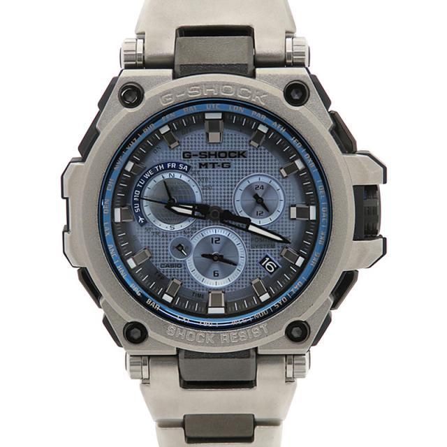 CASIO G-SHOCK GPSハイブリッド電波ソーラー 美品 '17年購入 カシオ Gショック MT-G MTG-G1000RS-2AJF ソーラー電波GPS 1ヶ月保証 中古 b06w/h18SA