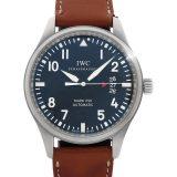 IWC '16年購入 インターナショナルウォッチカンパニー パイロットウォッチ マーク17 IW326501 メンズ 自動巻き 3ヶ月保証 中古 b02w/h00AB