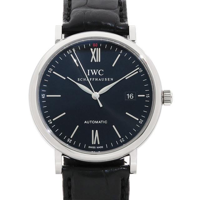 IWC インターナショナルウォッチカンパニー ポートフィノ IW356502 メンズ 自動巻き 3ヶ月保証 中古 b01w/h02A