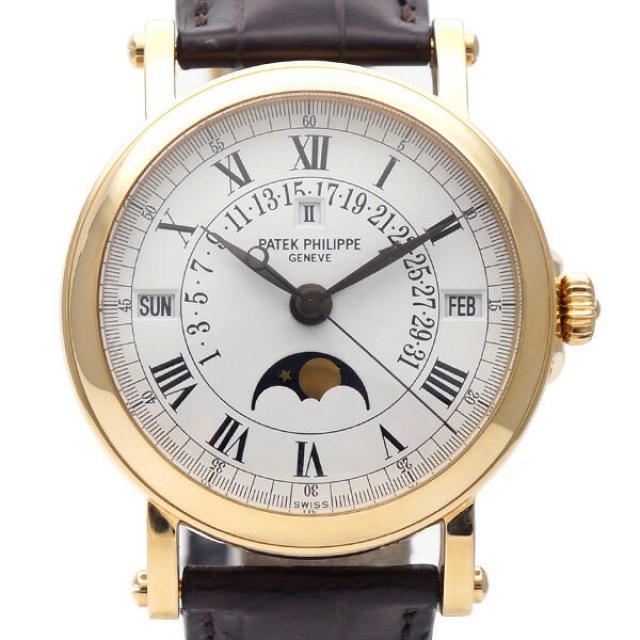 PATEK PHILIPPE パテック・フィリップ グランド コンプリケーション 5059J ユニセックス腕時計 K18YG AT ホワイト 中古AB/使用感小 20180827MF 東発 20075079