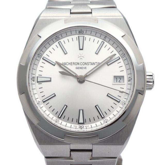 VACHERON CONSTANTIN/ヴァシュロン・コンスタンタン オーバーシーズ 4500V/110A-B126 メンズ腕時計 ステンレススチール AT シルバー 20180921MS 東発 20147332 中古NS/未使用