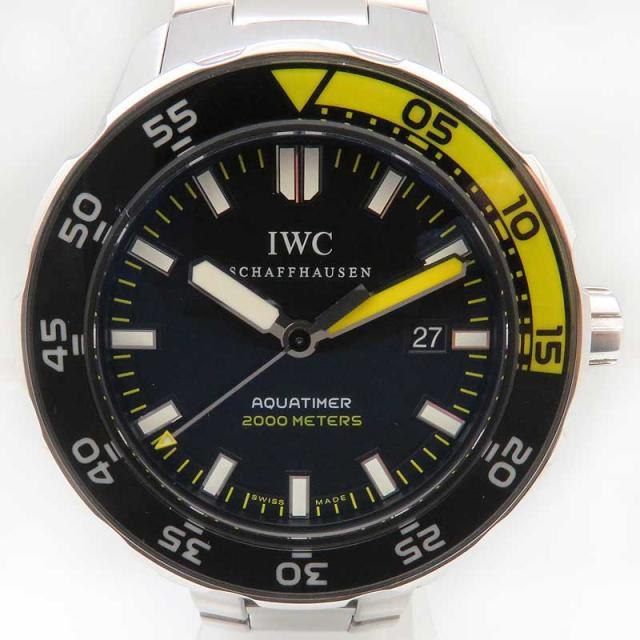 IWC アクアタイマー オートマティック 2000 メンズ IW356801 自動巻 正規ギャラ付 ダイバーズ 中古