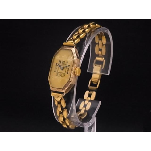 ロレックス – ROLEX – アンティーク オクタゴンケース YG素材 手巻き オーバーホール済 レディース 腕時計 Luxury Brand Selection  中古 USED