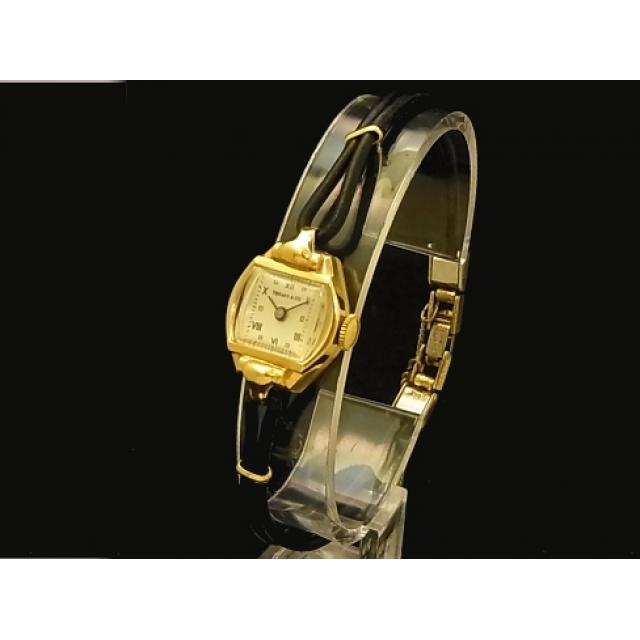 ティファニー – Tiffany&Co. – アンティーク 14KYG/紐 ローマン 手巻 レディース 腕時計 中古 USED