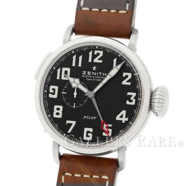 ゼニス パイロット アエロネフ タイプ 20 GMT 03.2430.693.21.C723 ZENITH 腕時計 安心保証 中古