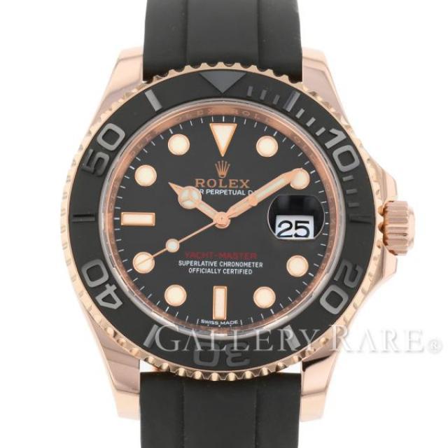 ロレックス ヨットマスター K18PGピンクゴールド ランダムシリアル ルーレット 116655 ROLEX 腕時計 エバーローズゴールド 安心保証 中古