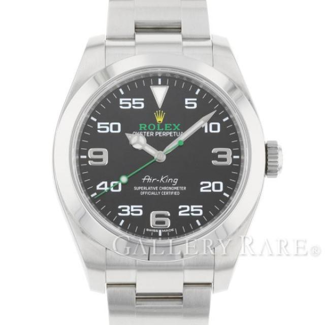ロレックス エアキング ランダムシリアル ルーレット 116900 ROLEX 腕時計 安心保証 中古