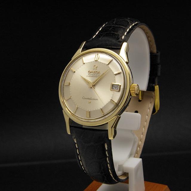 timeless design 328e4 223ce オメガ コンステレーション デイト ゴールド12角ダイアル GF ...
