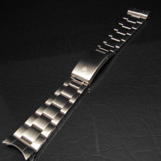 ロレックス 3連 巻き込みブレス 20mm デッドストック