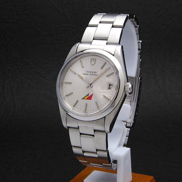 チュードル プリンス オイスターデイト Ref.74000N フィリピンエアー シルバー アンティークウオッチ