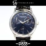ジャガー・ルクルト JAEGER-LECOULTRE マスター・リザーブ・ド・マルシェ 世界限定250本 140.6.93 ネイビー文字盤 メンズ 腕時計 中古