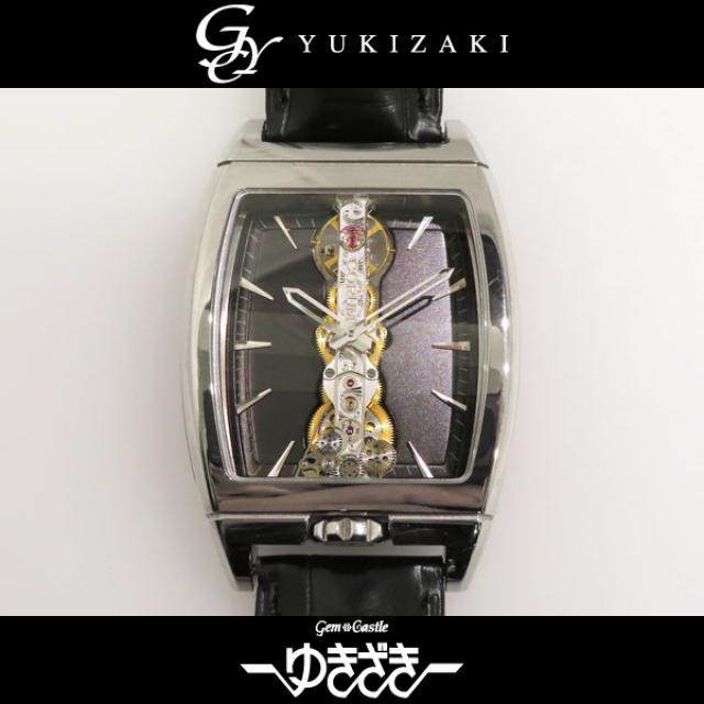 コルム CORUM ゴールデンブリッジ 113.150.59 ブラック文字盤 メンズ 腕時計 中古