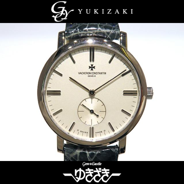 ヴァシュロン・コンスタンタン VACHERON CONSTANTIN パトリモニー 81160/000G9126 シルバー文字盤 メンズ 腕時計 中古