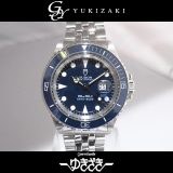 チュードル TUDOR ミニ サブマリーナ 73090 ブルー文字盤 ボーイズ 腕時計 中古