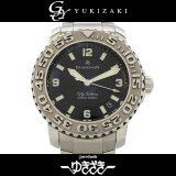 ブランパン BLANCPAIN フィフティ ファゾムス B2200-1130-71 ブラック文字盤 メンズ 腕時計 中古