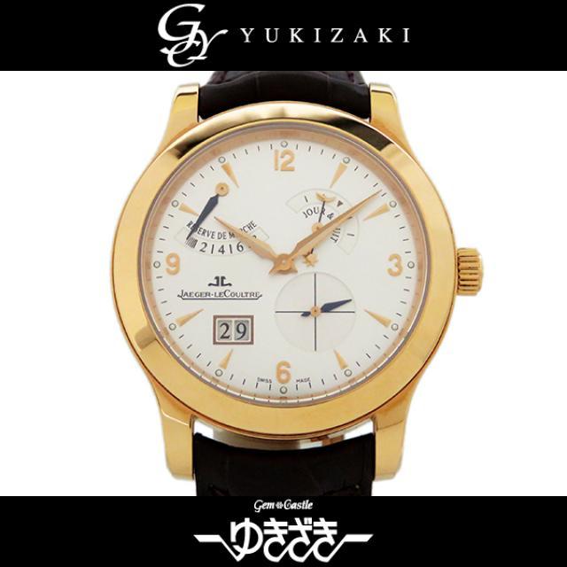 ジャガー・ルクルト JAEGER-LECOULTRE マスター 8デイズ Q1602420 シルバー文字盤 メンズ 腕時計 中古