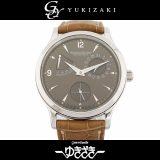 ジャガー・ルクルト JAEGER-LECOULTRE マスターコントロール 140.8.93 グレー文字盤 メンズ 腕時計 中古