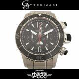 ジャガー・ルクルト JAEGER-LECOULTRE マスター コンプレッサー Q178T170 ブラック文字盤 メンズ 腕時計 中古