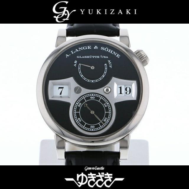 A.ランゲ&ゾーネ A.LANGE&SOHNE ツァイトヴェルク LS1403AD 140.029 ブラック文字盤 メンズ 腕時計 中古