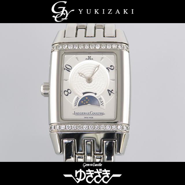 ジャガー・ルクルト JAEGER-LECOULTRE グランスポール 296.8.74 シルバー レディース 腕時計 中古