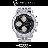 ブライトリング BREITLING オールドナビタイマー 日本限定 A13324 ブラック文字盤 メンズ 腕時計 中古