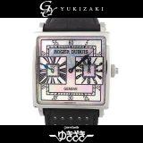 ロジェ・デュブイ ROGER DUBUIS ゴールデンスクエア GMT 世界限定28本 G43.1447.0.N126A.7ADT ホワイトシェル文字盤 メンズ 腕時計 中古