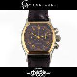 ジラール ペルゴ GIRARD-PERREGAUX リシュビル クロノグラフ 2710 ネイビー文字盤 メンズ 腕時計 中古
