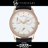 ジャガー・ルクルト JAEGER-LECOULTRE マスター・ウルトラスリム・リザーブ・ド・マルシェ Q1372501 アイボリー文字盤 ボーイズ 腕時計 中古